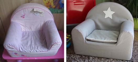 housse fauteuil bebe
