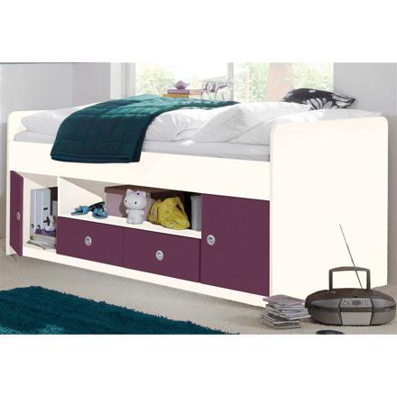 lit 1 personne avec rangements intégrés
