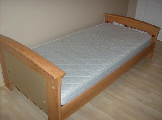 lit 1 personne complet