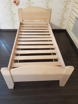 lit enfant garcon en bois