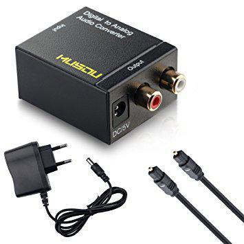 adaptateur cable audio optique