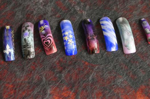 aerographe nail art