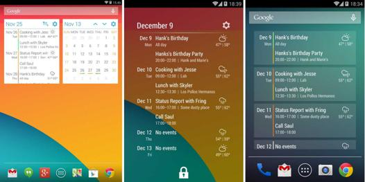 agenda avec alarme pour android