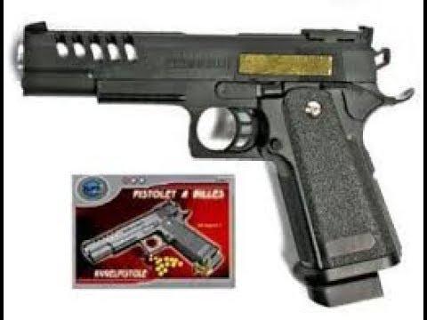 airsoft pistolet a bille