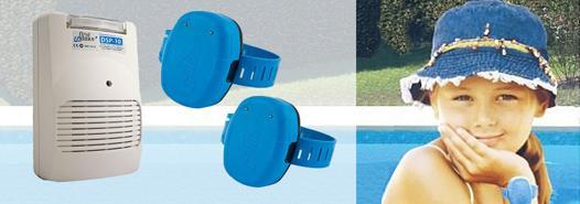 alarme piscine bracelet