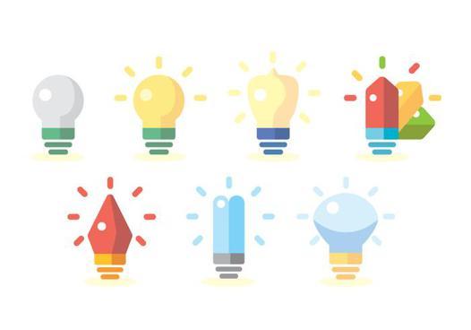ampoule flat design