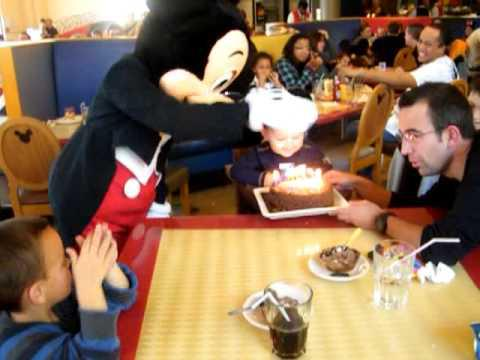 anniversaire café mickey