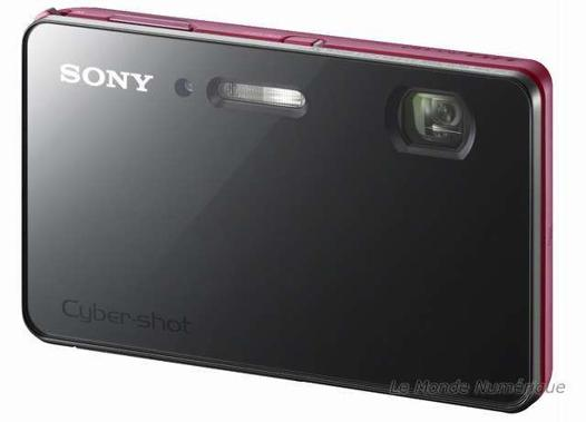 appareil photo sony tactile