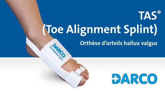 appareil pour redresser les orteils