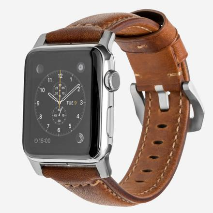 apple watch cuir