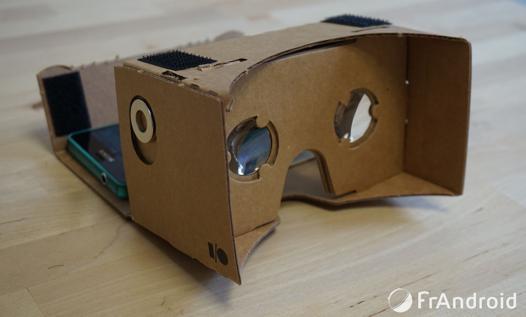 application casque réalité virtuelle