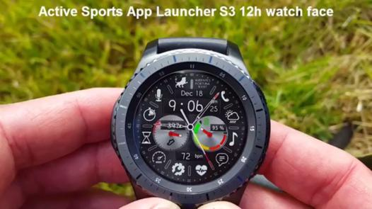 application pour gear s3