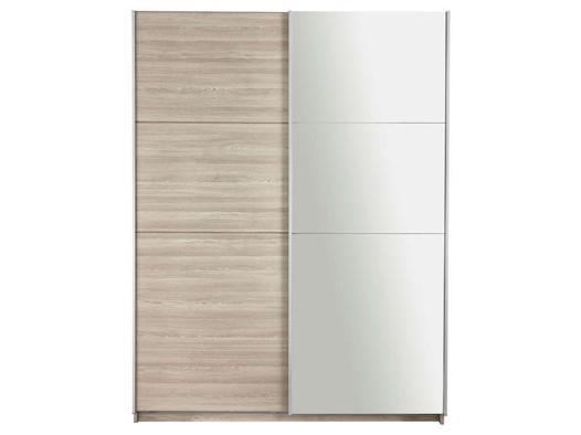 armoire 2 portes miroir