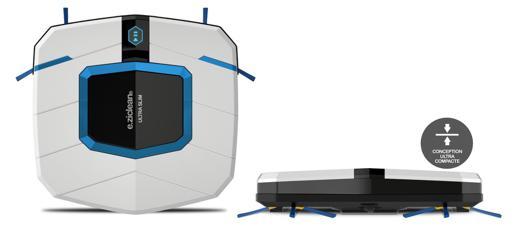 aspirateur robot e ziclean ultra slim white v2