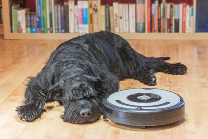 aspirateur robot pour poil de chien