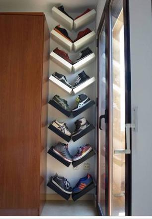 astuce pour ranger les chaussures