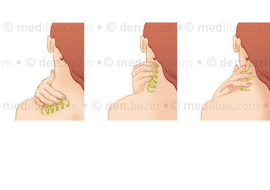 auto massage du cou