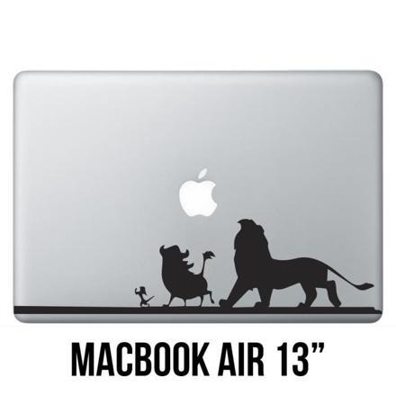 autocollant macbook air 13