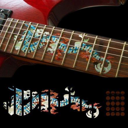 autocollant pour guitare