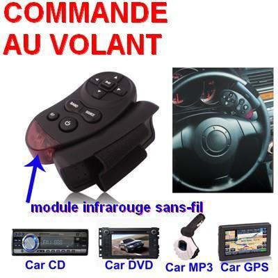 autoradio bluetooth commande au volant