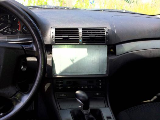 autoradio double din bmw e46