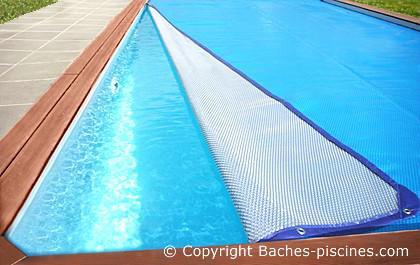 bache à bulles piscine