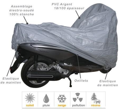 bache pour scooter 125