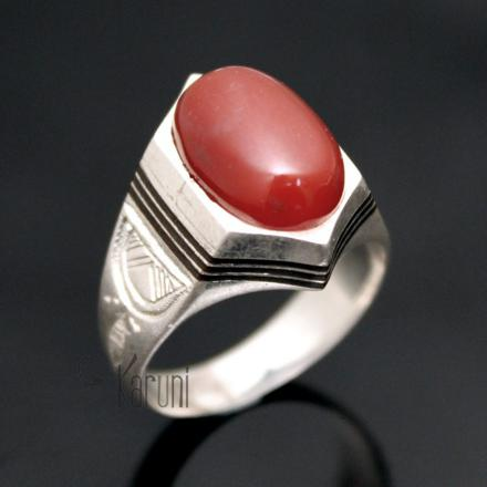 bague agate homme