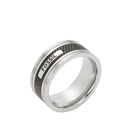 bague fossil homme