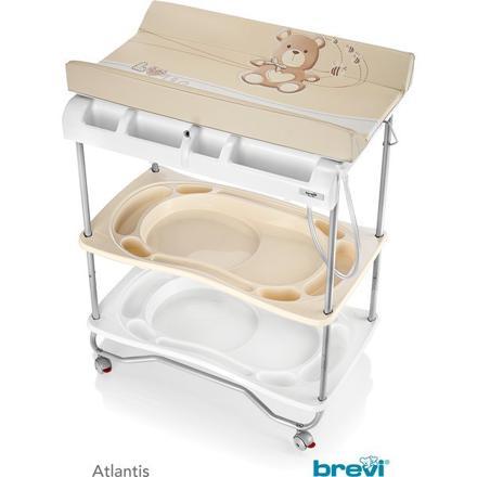 baignoire table à langer brevi