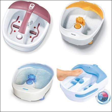 bain de pied masseur