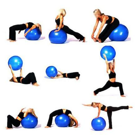 ballon pour exercices gym