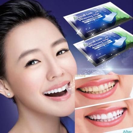 bande de blanchiment dentaire