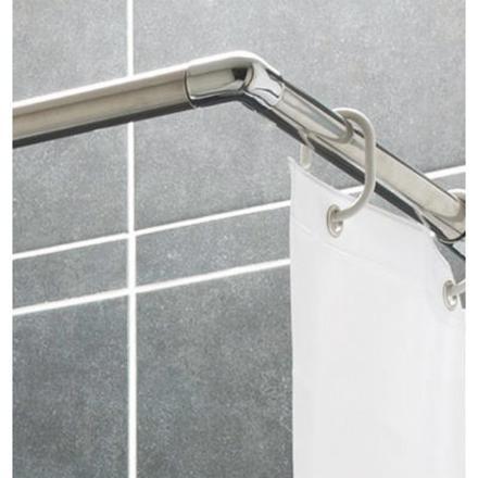 barre de rideau de douche d angle