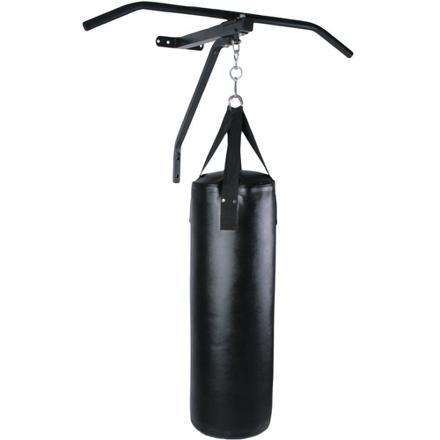 barre de traction avec sac de frappe