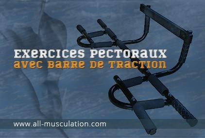 barre de traction pectoraux
