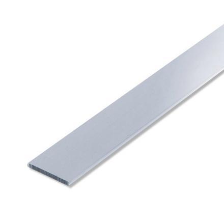 barre en aluminium plat