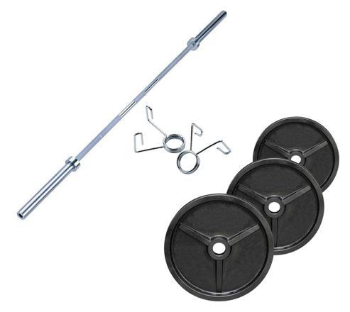 barre et disque de musculation