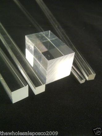 barre plexiglas transparent