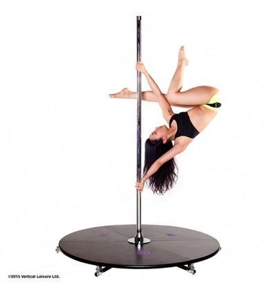 barre pole dance sans fixation plafond