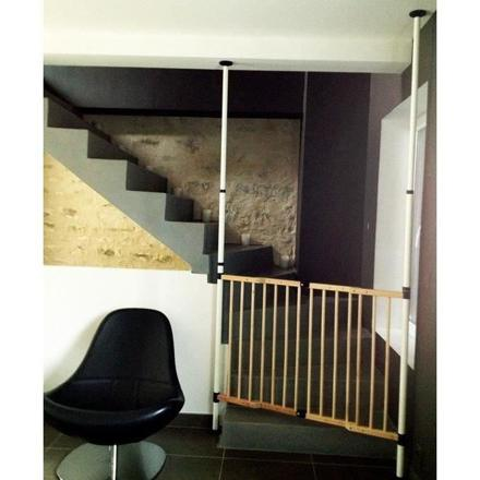 barriere escalier sans percer