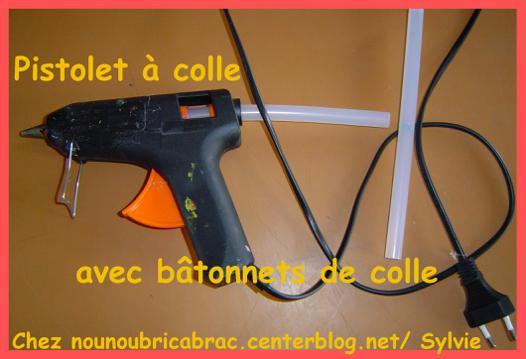 baton pistolet à colle chaude