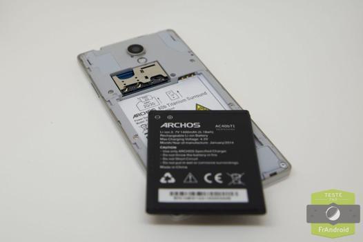 batterie archos 50 titanium