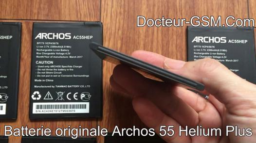 batterie archos 55 helium plus