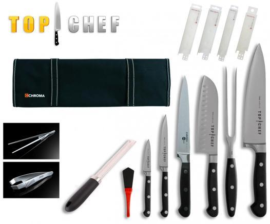 batterie de couteaux top chef