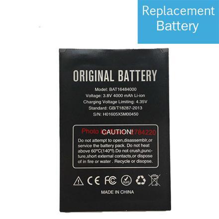 batterie doogee x5 pro