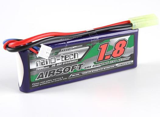 batterie lipo airsoft
