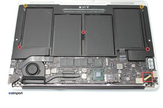batterie macbook air 2012