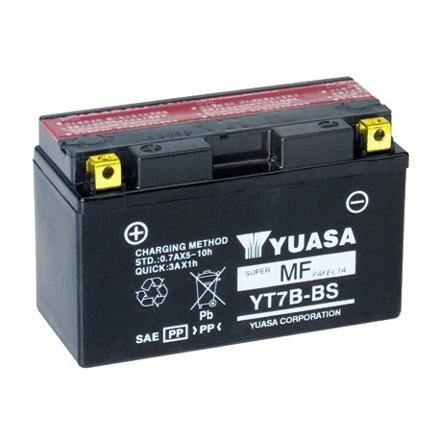 batterie moto yuasa yt7b bs