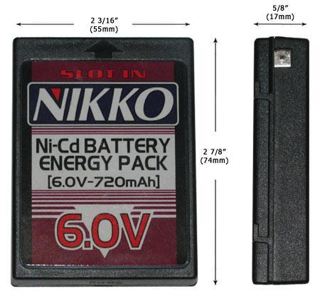 batterie nikko 6v